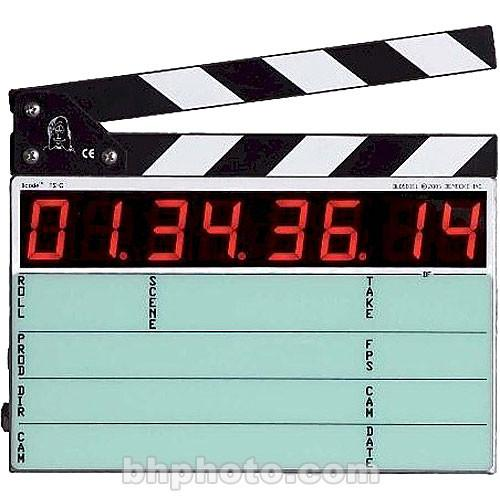 Denecke TS-C Compact Time Code Slate (Black & White) and