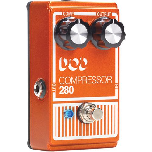 DigiTech DOD Compressor 280 Stompbox (2014) DOD280-14