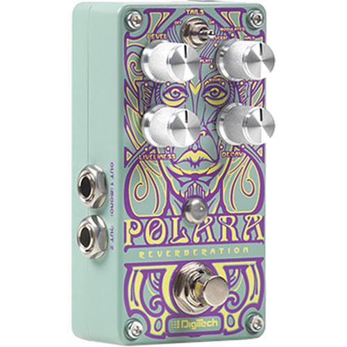 DigiTech Polara Reverb Pedal with 7 Lexicon Reverb Types POLARA