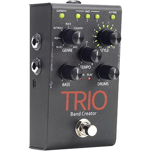 DigiTech  TRIO Band Creator Guitar Pedal TRIO