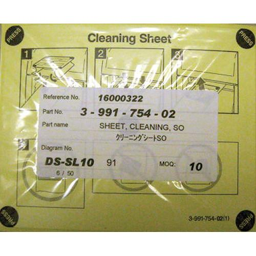 DNP Feed Roller Cleaning Sheets for CX1 and CR10L 3-991-754-02