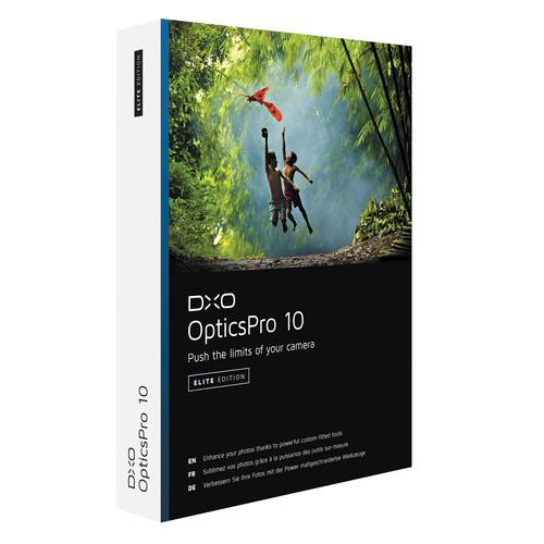 DxO  OpticsPro 10 Elite Edition (DVD) 100371