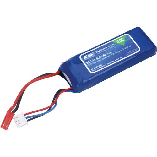E-flite 800mAh 2S 7.4V 30C LiPo Battery for RC EFLB8002SJ30