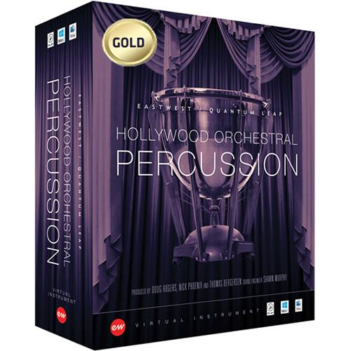 EastWest Hollywood Orchestral Percussion Gold EW-270MACEXT