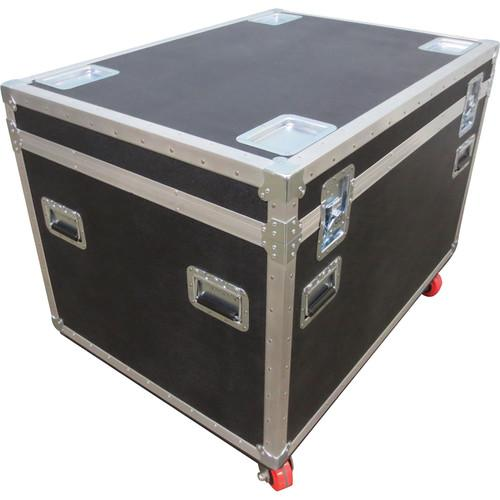 Elation Professional DRCEZ4-10 Road Case for 10 EZ4 DRCEZ4-10