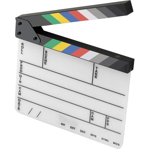 Elvid 9-Section Acrylic Production Slate with Color PS-911-C