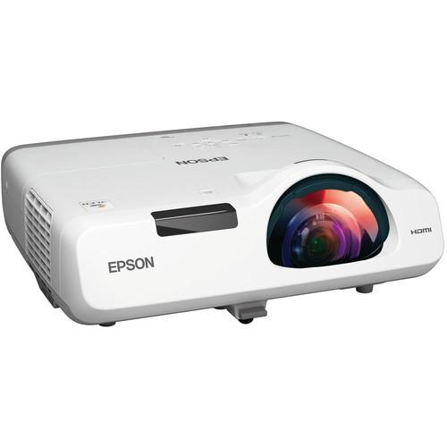 Epson PowerLite 520 3LCD Short Throw Projector V11H674020