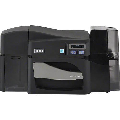Fargo DTC4500e Dual-Sided Card Printer with Single-Sided 55410