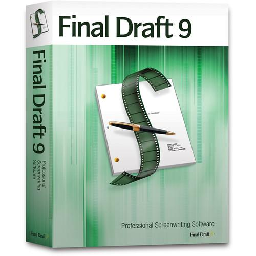 Final Draft 9 Screenwriting Software (DVD) FD9-CASE