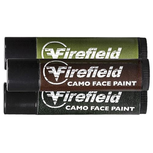 Firefield Woodland Camo Face Paint (3-Tube Pack) FF49000