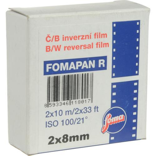 Foma Fomapan R100 Black and White Transparency Film 411801
