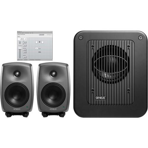 Genelec 8330 2.1 Surround Sound System 8330.LSE TRIPLE SAM