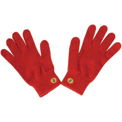 Glove.ly SOLID Winter Touchscreen Gloves (Red, Small) FC-003-R-S