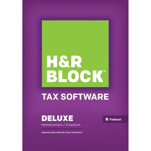 H&R Block 14 Deluxe (Download, Windows) 1413800-14