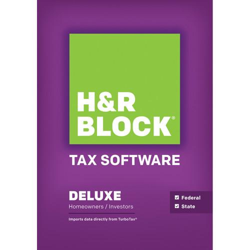 H&R Block 14 Deluxe   State (Download, Mac) 1326800-14