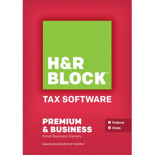 H&R Block 14 Premium and Business (Download, Windows) 1116800-14