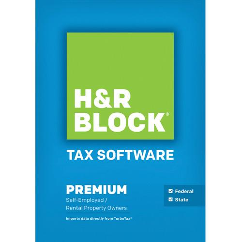 H&R Block 14 Premium Federal   State (Download, Mac) 1526800-14