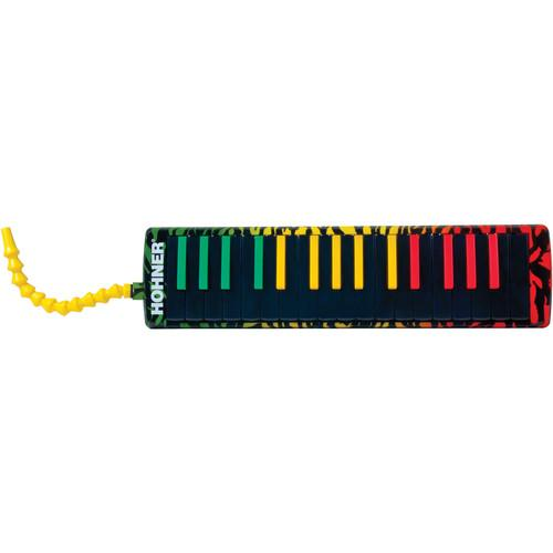 Hohner AirBoard Rasta Air-Powered Keyboard (32-Key) AB32-RASTA