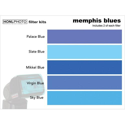 Honl Photo Memphis Blues Photo Filter Kit HONL-FILTER7