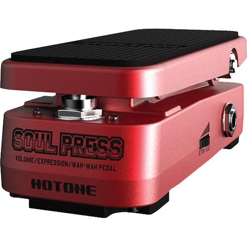 Hotone Soul Press Volume / Expression / Wah-Wah Pedal TPSPRESS