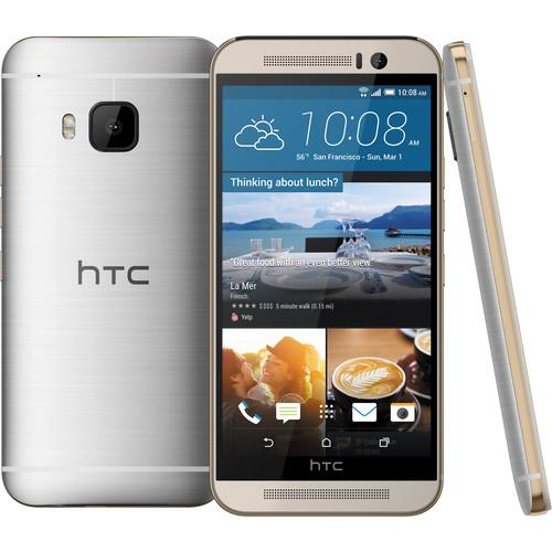 HTC One M9 32GB Smartphone (Unlocked, Silver / Gold) HTC-M9GSM-S