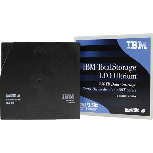 IBM  LTO Ultrium 6 Data Cartridge 00V7590
