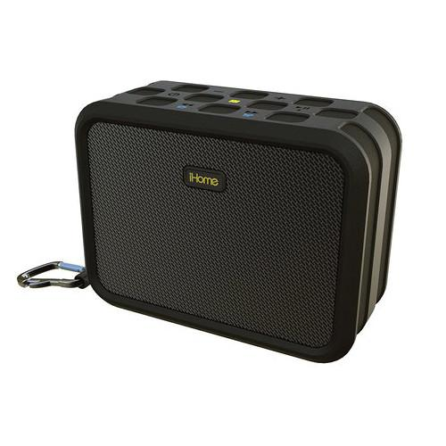 iHome iBN6 Waterproof Portable Bluetooth Wireless Stereo IBN6BC