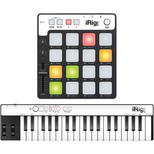 IK Multimedia iRig Keys and Pads for iOS, Mac, PC CB-KPA-HCD-IN