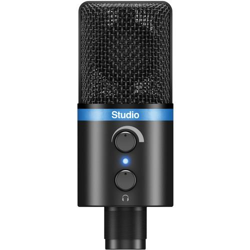 IK Multimedia iRig Mic Studio, Portable IP-IRIG-MICSTDBLA-IN