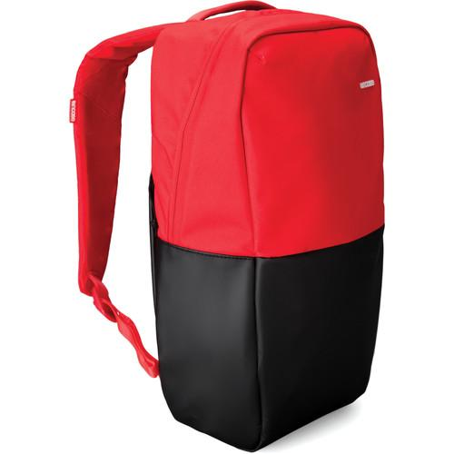 Incase Designs Corp Icon Compact Backpack (Red/Black) CL55547