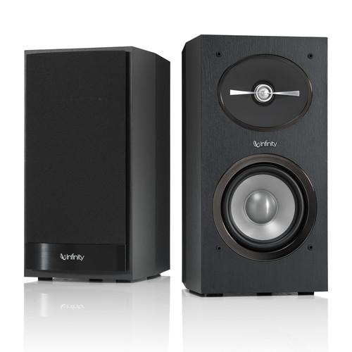 Infinity Reference R152 2-Way Bookshelf Speakers R152BK