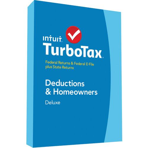 Intuit TurboTax Deluxe Federal E-File   State 2014 424481