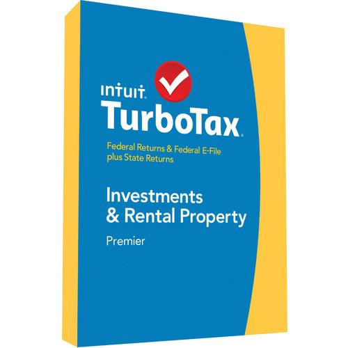 Intuit TurboTax Premier Federal E-File   State 2014 424482