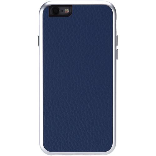 Just Mobile AluFrame Leather Case for iPhone 6/6s AF-168-BL