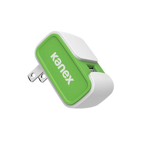 Kanex MiColor USB Wall Charger V2- 2.4A (Green) KWCU24V2GN
