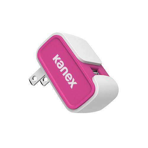 Kanex MiColor USB Wall Charger V2- 2.4A (Pink) KWCU24V2PK