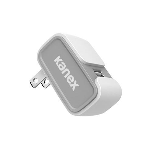 Kanex MiColor USB Wall Charger V2- 2.4A (White) KWCU24V2