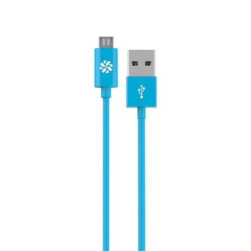 Kanex micro USB Charge and Sync Cable (Blue, 4') KMUSB4FBL