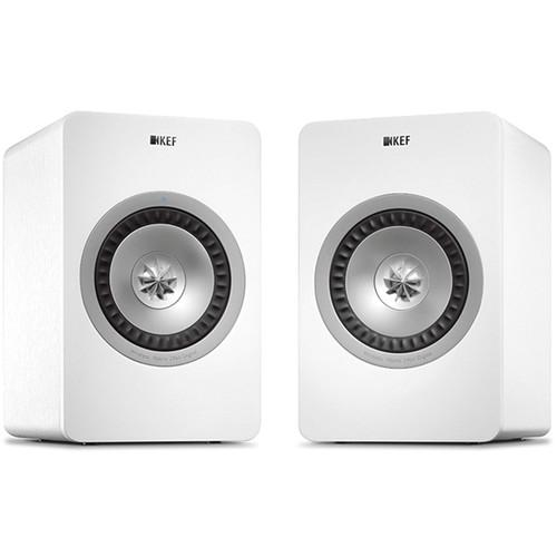 KEF X300A Wireless Powered 2-Way Digital Hi-Fi Speakers X300AWW