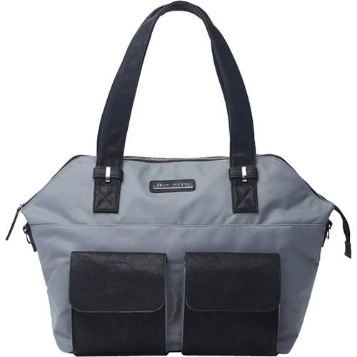 Kelly Moore Bag Ponder Bag with Removable Basket KM-1812 GREY