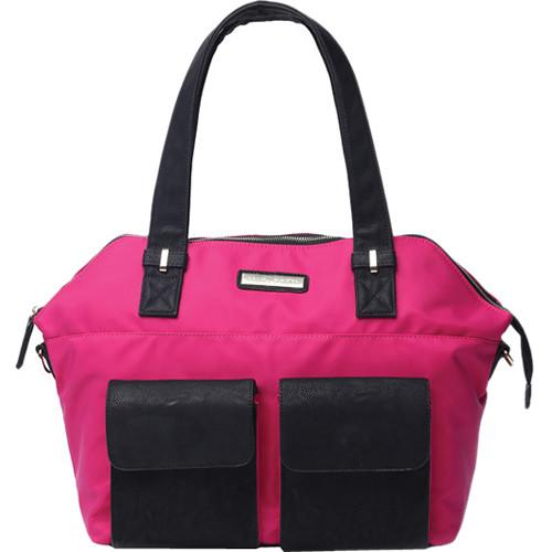 Kelly Moore Bag Ponder Bag with Removable Basket KM-1812 MAGENTA