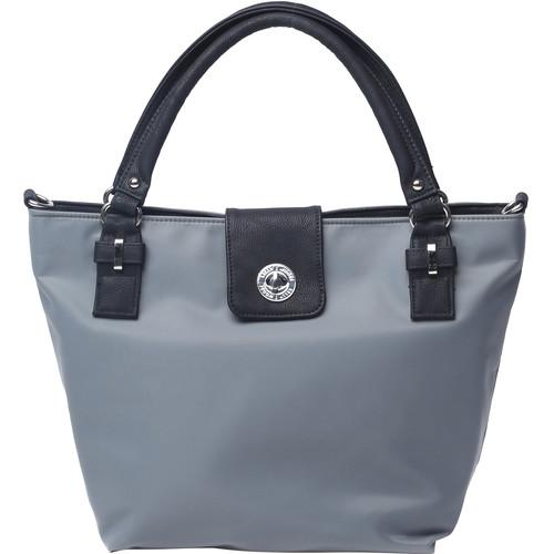 Kelly Moore Bag Saratoga Bag with Removable Basket KM-1813 GREY