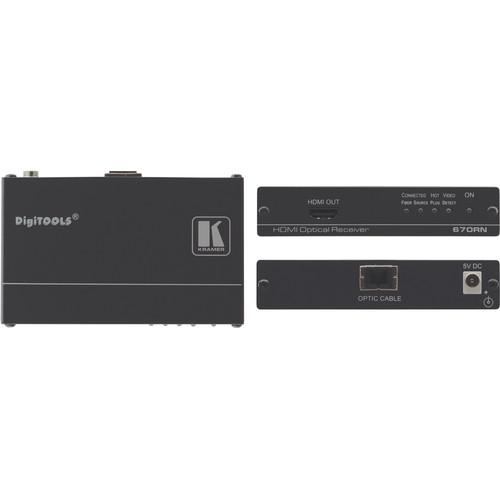 Kramer 670RN HDMI over Fiber Optic Receiver 670RN