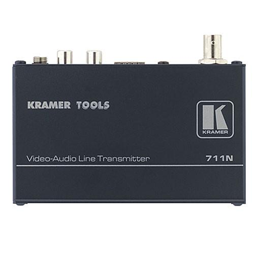 Kramer 711N/712N Composite Video & Stereo Audio Transmitter