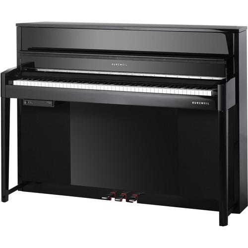 Kurzweil CUP2-BP Compact Upright Digital Piano (Black) CUP2-BP