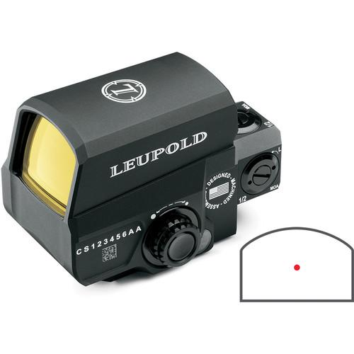 Leupold 1x32 LCO Reflex Sight (1 MOA Red Dot Reticle) 119691