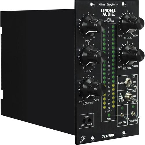 Lindell Audio 77X-500 500 Series Stereo Compressor 77X