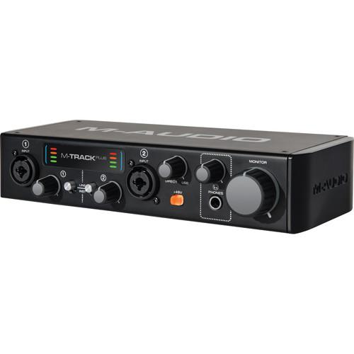 M-Audio M-Track Plus 2-Channel USB 2.0 Audio MTRACK PLUS II