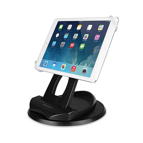 Macally SPINGRIP 2-in-1 Swivel Desk Stand and Hand SPINGRIP