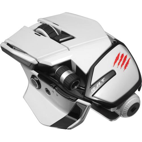 Mad Catz Office R.A.T. Wireless Mouse (White) MCB437240001/04/1
